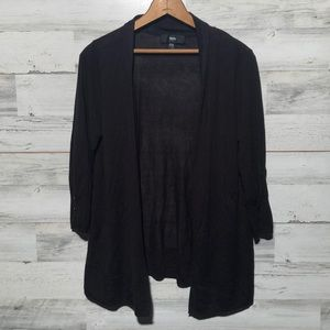 Mossimo XXL open front black cardigan